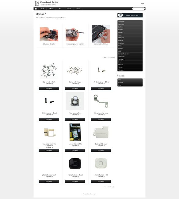 Dealershop voor iPhone Repair reparateurs